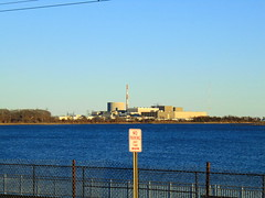 Nianitc, Connecticut (jjbers) Tags: niantic connecticut march 18 2018 long island sound ocean water millstone power plant nuclear