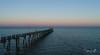 2018 - 02_27 - Drone - Largs - Sunrise 01.jpg (stevenlazar) Tags: 2018 sunset water aerial southaustralia clouds beach drone largs phantom4pro sphere australia ripples jetty colour waves adelaide