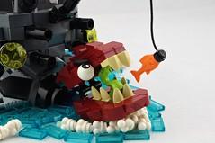"""Gamera"" Class Destroyer: EAT THE FISH (Deltassius) Tags: da3 torpedo boat turtle ship dragon moc lego war military"
