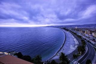 Nice by night : La baie des angles et la promenade des Anglais 1L8A0482