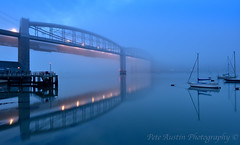 Misty Reflections. (EXPLORED) (pedro2324) Tags: tamar brunel bridges saltash reflections mist yachts boats stillness tranquil scenic seascape river cornwall devon