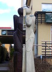 Paar von Bohnsdorf (Landschleicher77) Tags: hermaphrodit erhardtzeisigermarcelleisner brauhausbohnsdorf buntzelstr bohnsdorf treptow berlin paarvonbohnsdorf