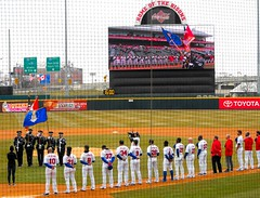 B9441 The National Anthems (sabre11richard) Tags: international league baseball minor triple a affiliate toronto blue jays aaa