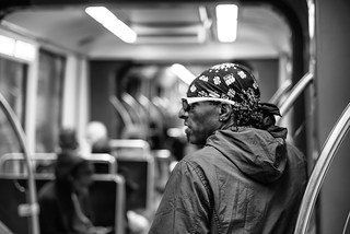 Man on Red Line South