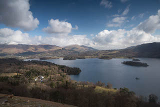 Derwent Water from Catbells, Keswick, UK