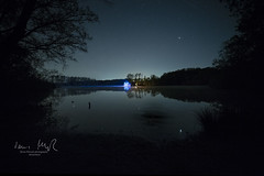 _T1A5040 Sternenhimmel über Moorsee (idunavision) Tags: peat bog moor moorsee water wasser see landschaft landscape spring frühling canon irix weitwinkel nachtaufnahme night lights lichter sterne stars astro