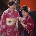 Kimonos at Inari Shrine