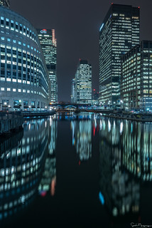 Canary Wharf Reflections, London