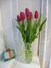 tulips again 76/365 (auroradawn61) Tags: flowers vase tulips hamworthy poole dorset uk england 2018 athome 365daysin2018 windowsill