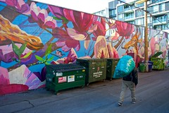 March 10, 2018 (slidefarmer2015) Tags: destitute mountpleasant mural poverty publicart scavenger vancouver vancouverbc vrmtp