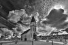 Glorious (monochrome version) (Michael F. Nyiri) Tags: clouds cloudscapes sky church stpeterschurch ranchopalosverdes california southerncalifornia