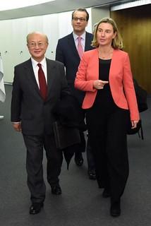 Visit of Yukiya Amano, Director General of the International Atomic Energy Agency (IAEA) , to the EC, March 2018