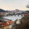 Vista de Praga e suas cúpulas do alto do Castelo Vyšehrad 🏰 (jpcamolez) Tags: vista de praga e suas cúpulas do alto castelo vyšehrad 🏰