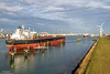 View over the Calandkanaal (Malte Kopfer Photography) Tags: calandkanaal rotterdam europoort port harbour tanker ships paal83 aussichtsturm noordzeeweg helgaspirit teekay