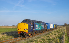 37059 T&T 37069 6M95 21/03/2018 (Waddo's World of Railways) Tags: 37 370 059 069 37059 37069 rail railway train loco locomotive diesel drs dungeness branchline dungenessbranch kent class37 directrailservices pfa pfawagons lowlevelwastetrain nuclearflasktrain nuclear scenic scenickent kentrailways dungenesspowerstation 6m95 powerstation drsclass37