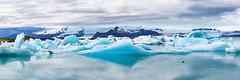 Iceland by Yann OG - Jökulsárlón Panorama