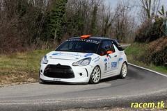 Rivaldi-Zambetti (www.racem.tk) Tags: rally colli scaligeri rallyday montorio rivaldi zambetti citroen ds3 caiò
