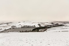 Snow on the hills-March 17th 2018 003 - Digley with snow over Holme Moss (Mark Schofield @ JB Schofield) Tags: south pennines snow beast east vw armarok wessenden wessendenvalley wessendenhead westnab meltham marsden moors moorland pennineway ice road winter march canon eos 5dmk4 pulehill thenationaltrust showers huddersfield yorkshire