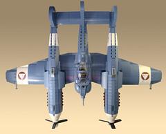 P-98 Nemesis (JonHall18) Tags: ww2 lego moc dieselpunk world war two plane aircraft fighter fantasy pilot
