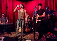 Coffee Shop Arena Rock 04/07/2018 #33 (jus10h) Tags: coffeeshoparenarock curtispeoples hotelcafe losangeles hollywood california live music concert gig event residency show performance showcase coffeeshop arenarock 80s 90s covers songs singers nikon d610 lowlight photography 2018 april justinhiguchi