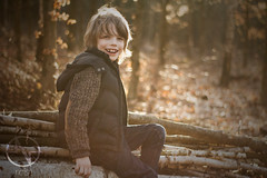 Spring mode: on (brooneq) Tags: boy kid forest wood photography noise noisenetpl bruno ciechorski canon 7d portrait fotograf trojmiasto gdansk