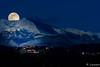Village Audois (11) sous une pleine lune (Shoot Enraw) Tags: pyrénnées lac poselongue aude bracketting 70030000mmf4056 ariège