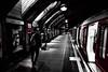 last train home (Jonathan Vowles) Tags: london baker tube station mono selective train
