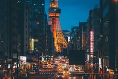 東京鐵塔|Tokyo tower (里卡豆) Tags: minatoku tōkyōto 日本 jp olympus 75mm f18 神之光 olympus75mmf18 penf
