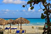 Relaxation (KristinaRoo) Tags: beach cuba veradero ocean sea salt water waves blue vacation relaxation perfect sky clouds sand shade towels