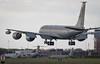 USAFE Boeing KC-135R Stratotanker 63-8871 / D 351st ARS, 100th ARW (A J Townsend) Tags: usairforceineurope usafe boeingkc135stratotanker 638871 d bloodyhundredth 351ars 351stairrefuellingsquadron 351stars 100arw 100tharw 100thairrefuellingwing rafmildenhall ashleytownsend militaryair military militaryaircraft heavy tanker touchngo circuits landinggear approach landing