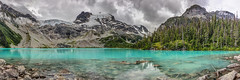Panoramic View of Upper Joffre Lake (PIERRE LECLERC PHOTO) Tags: joffrelakes panoramic pano britishcolumbia canada landscape nature joffrelakesprovincialpark mountains lake turquoiselake matierglacier glaciers globalwarming climatechange environment wilderness alpine outdoors hiking adventure travel peaks mountaintops turquoisewater teal pierreleclercphotography canon5dsr