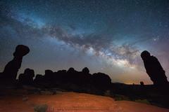 Milky Way Communication400 (Darren White Photography) Tags: night nightphotography nightsky nightscapes milkyway archesnationalpark sigma lens sigmalens 14mm sigma14mm