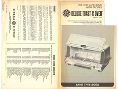 PH0341 Deluxe Toast R Oven A (Eudaemonius) Tags: eudaemonius deluxe toastroven mdel t93 general electric ph0341 recipes cookbook booklet toaster oven