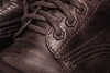 Leather Brown Boot (gileshodges) Tags: boot brown leather close macro lace texture