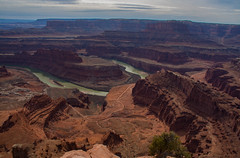 Dead Horse State Park View (Nancy King Photography) Tags: moab coloradoriver utah canyons landscape canyonlands river deadhorsestatepark