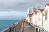 DISAP-PIER-ING (Aliy) Tags: pier perspective hernebay kent sea coast huts beachhuts hut beachhut