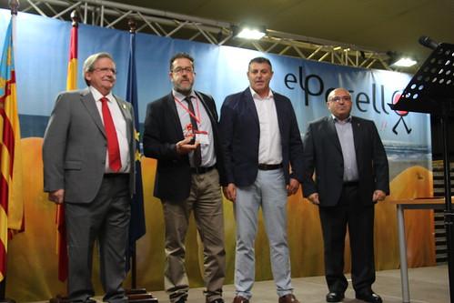 Subasta primer lote tomate temporada. El Perelló (27-04-2017)