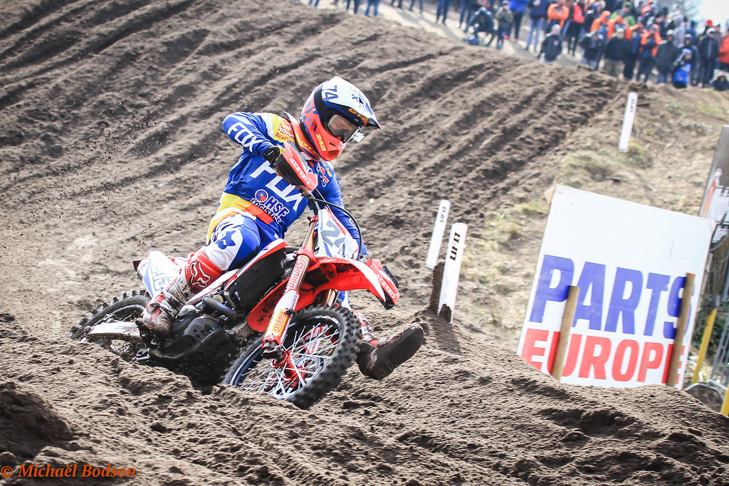 VALKENSWAARD (Netherlands) 18 March 2018 - Valkenswaard's Eurocircuit has  staged the opener of the 2018 European Motocross Championship with the  EMX125 and ...