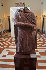 Torso of an Emperor Statue (thebyzantinelegacy) Tags: bodemuseum porphyry
