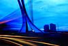 Flaiano bridge (Ivano Di Benedetto) Tags: ponte bridge bluehour pescara ponteflaiano abruzzo blue light colors blu sky