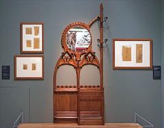 Hector Guimard, la naissance du style (Musée d'Orsay, Paris) (dalbera) Tags: artnouveau hectorguimard muséedorsay dalbera paris france portemanteau mobilier dessins