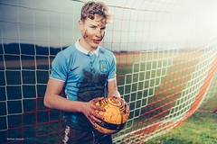 Aftermat(c)h... (Sam' place) Tags: 2018 ball boy dirt football grass outdoot portrait profoto profotob1 soccer