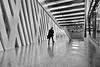 stairs (heinzkren) Tags: schwarzweis blackandwhite bw sw monochrome architektur architecture candid mann man people design lines treppe stufen stiege abgang ausgang exit