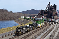 211 at Bethlehem (Erie Limited) Tags: ns norfolksouthern emd sd70 ns211 cp88 bethlehempa lehighline train railfan railroad