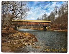 Livingston Manor Covered Bridge (Dave Heaphy) Tags: covered bridge