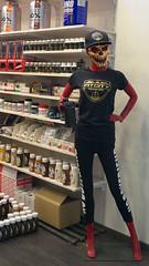 Pill Popper (tcees) Tags: westendcitycenter budapest hungary pest westernrailwaystation váciút31062 shops mall stores healthfoodsupplements fitcitynutrition urban x100 fujifilm finepix pills vitamins mannequin cap skull teeth bottle