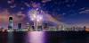 Jersey City Fireworks 8 (tuhindas1989) Tags: fireworks independanceday usaindependanceday cityscape cityskyline longexposure sky clouds 4thjulyfireworks jerseycity nj newjersey hudson fireworksreflection highrise cityandfireworks jerseycityfireworks travel travelphotography
