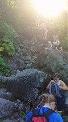 Get Down From There (michael.veltman) Tags: seattle washington trail hike bridal falls