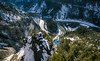 Top down (Rico the noob) Tags: 2018 d850 landscape nature outlook mountains outdoor panorama snow trees tree river forest water switzerland dof schweiz laax 20mmf18 published 20mm