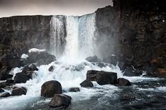Islande, Thingvellir, 15 (Patrick.Raymond (4M views)) Tags: islande froid gel hiver neige glace cascade cercle dor hdr nikon